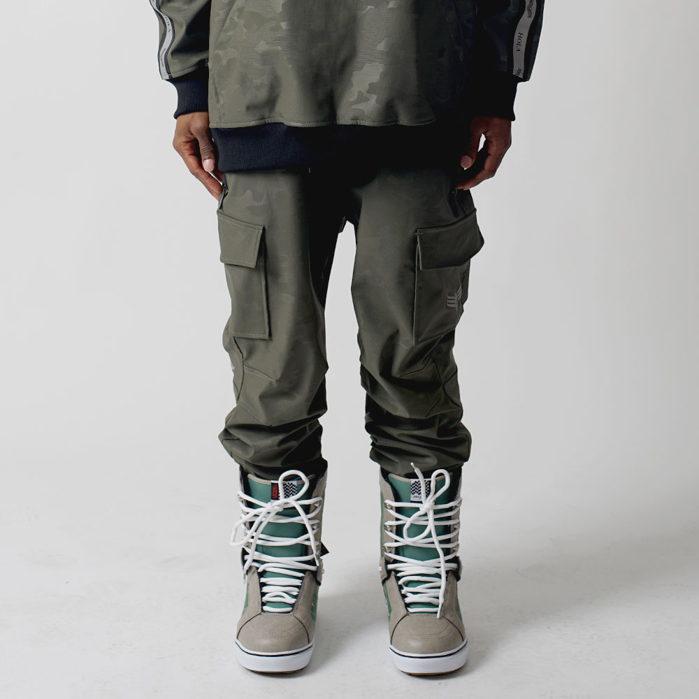 1920 UNIQUE CARGO JOGGER - KHAKI