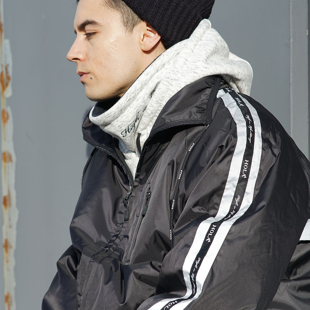 1920 REFLECTIVE LINE WINDBREAKER JACKET